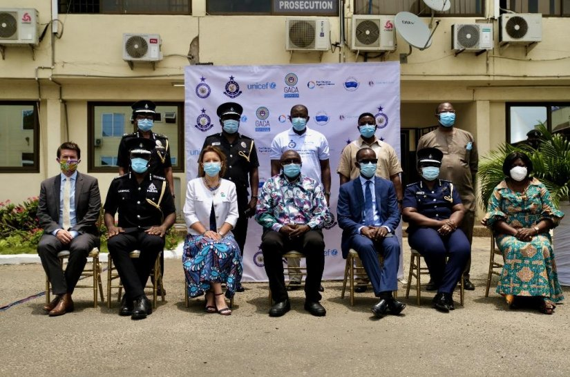 Ghana's first child protection digital forensic laboratory launched